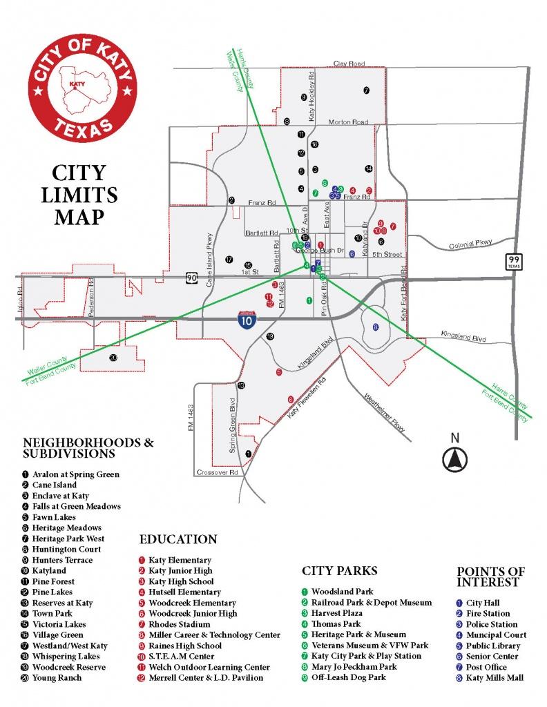 Maps   City Of Katy, Tx - Katy Texas Map