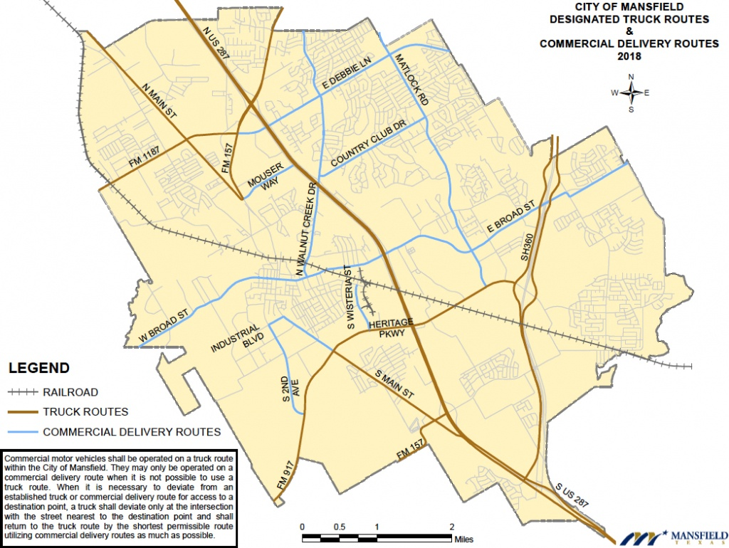 Maps | City Of Mansfield, Texas - Mansfield Texas Map
