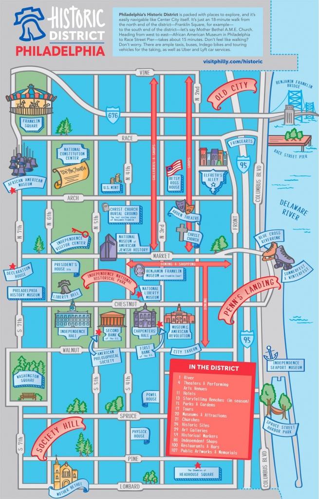 Maps & Directions - Printable Map Of Philadelphia