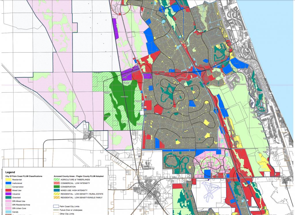 Maps - Flagler County - Map Of Palm Coast Florida Area