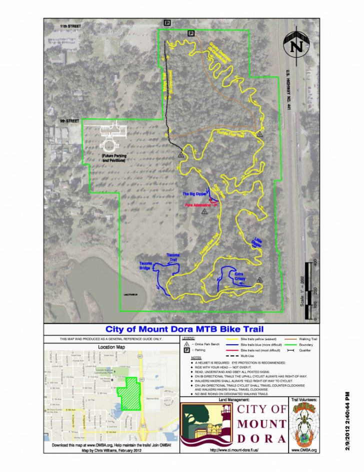 Florida Trail Maps Download