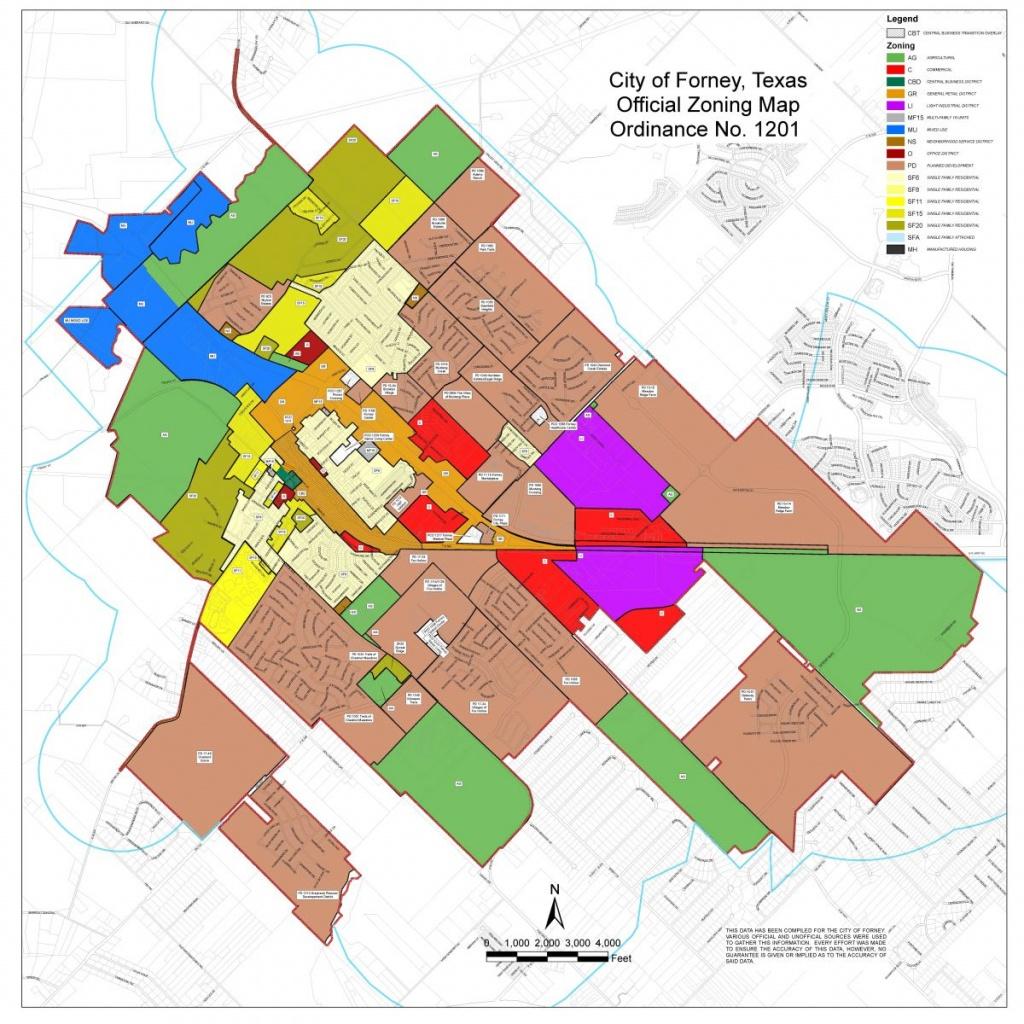 Maps   Forney Edc - Kaufman Texas Map