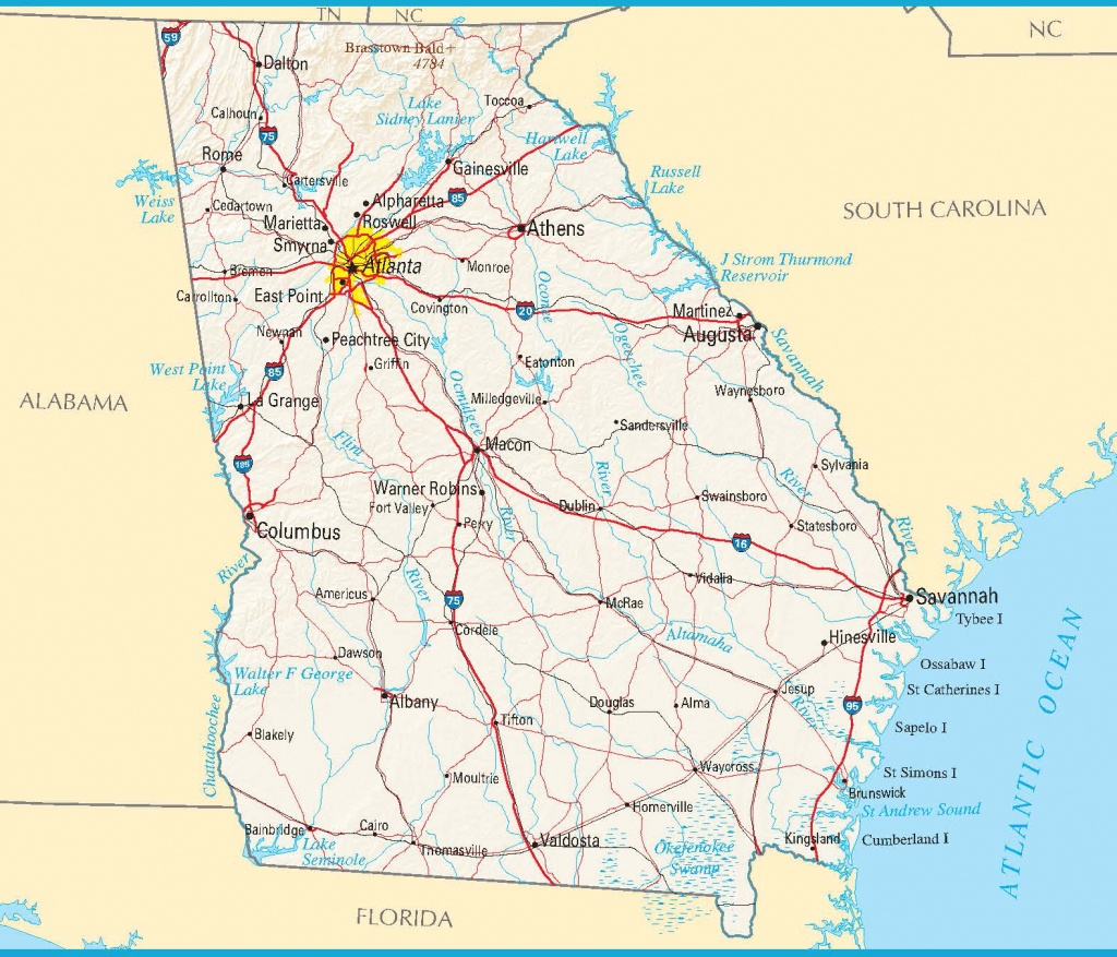 Maps. Google Maps Georgia - Diamant-Ltd - Google Printable Maps