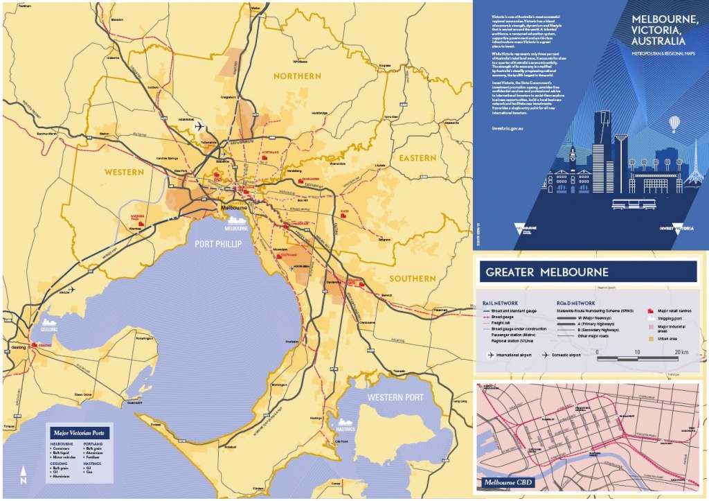 Maps - Invest Victoria - Printable Map Of Victoria Australia