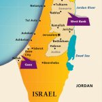 Maps: Israel Today | Aipac - Printable Map Of Israel Today