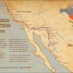 Maps   Juan Bautista De Anza National Historic Trail (U.s. National   Southern California Trail Maps