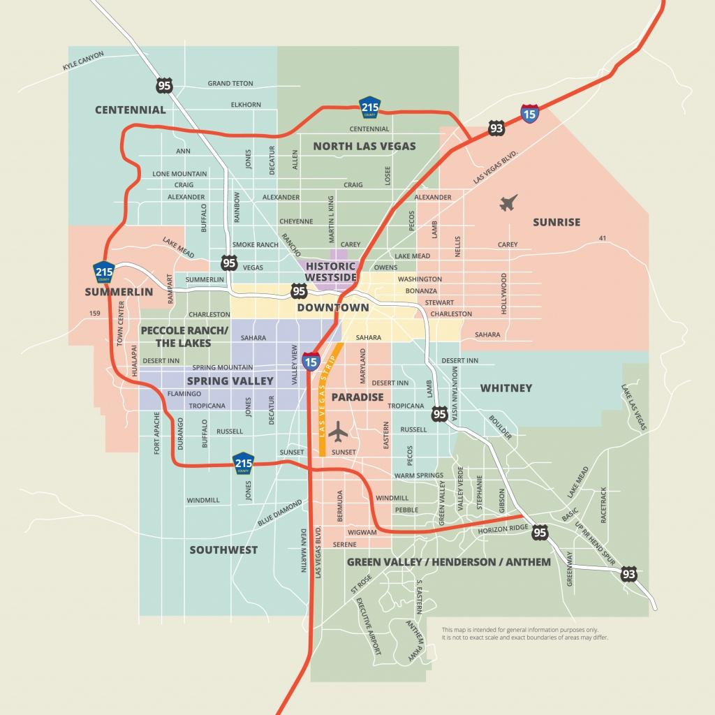Maps   Las Vegas - Las Vegas Printable Map