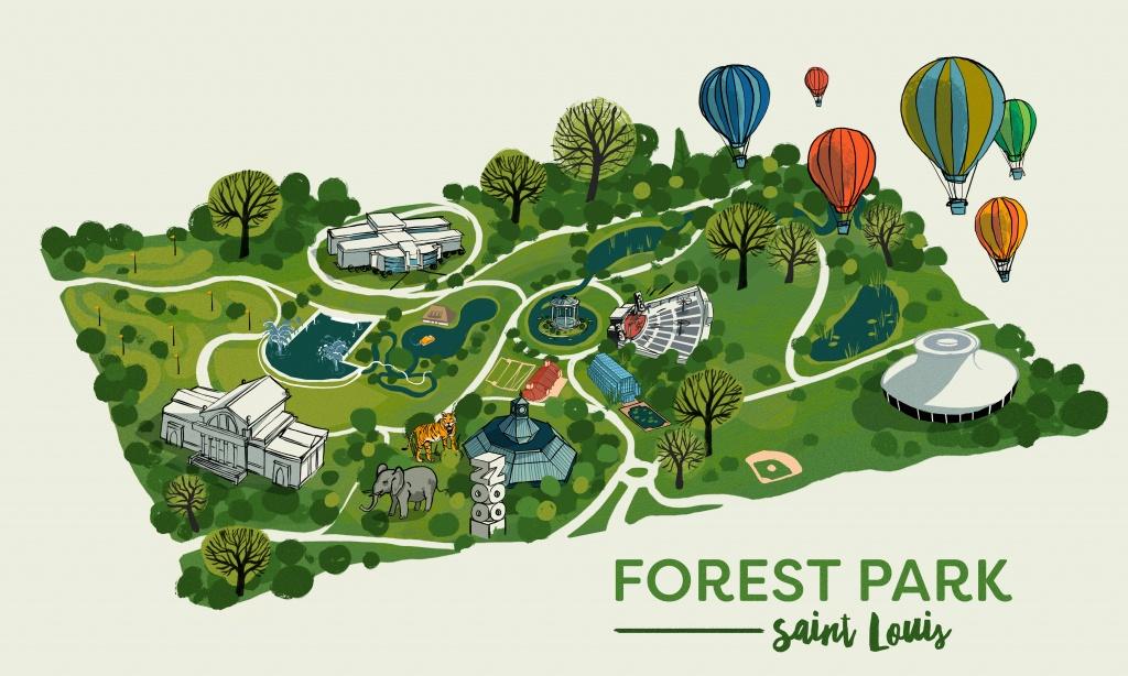 Maps – Noah Macmillan - Forest Park St Louis Map Printable