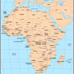 Maps Of Africa   Free Printable Political Map Of Africa