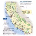 Maps Of California | Collection Of Maps Of California State | Usa - Southern California National Parks Map