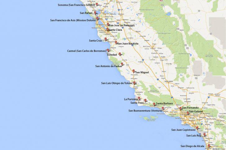 California Vacation Planning Map