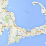 Maps Of Cape Cod, Martha's Vineyard, And Nantucket   Printable Map Of Cape Cod Ma
