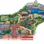 Maps Of Disneyland Resort In Anaheim, California   California Adventure Map 2017