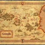 Maps Of Fantasy Lands In 2019 | Vintage Printables | Map Of Narnia   Printable Map Of Narnia