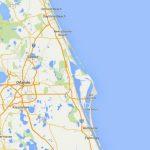 Maps Of Florida: Orlando, Tampa, Miami, Keys, And More   Map Of Daytona Beach Florida