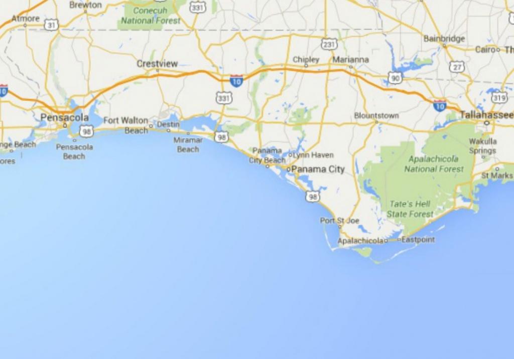 Maps Of Florida: Orlando, Tampa, Miami, Keys, And More - Map Of Florida Panhandle Beach Towns
