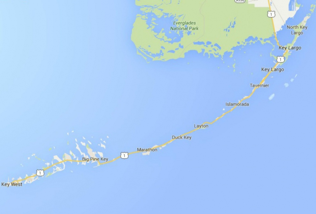 Maps Of Florida: Orlando, Tampa, Miami, Keys, And More - Show Me A Map Of The Florida Keys