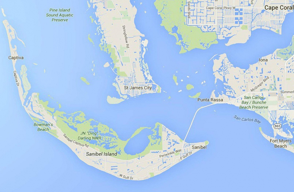 Maps Of Florida: Orlando, Tampa, Miami, Keys, And More - Where Is Sanibel Island In Florida Map