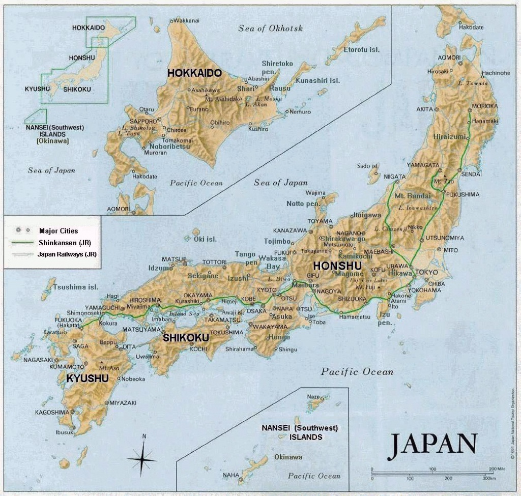 Maps Of Japan   Detailed Map Of Japan In English   Tourist Map Of - Printable Map Of Japan