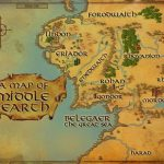 Maps Of Middle Earth | Middle Earth Printable Map | Lord Of The   Printable Hobbit Map