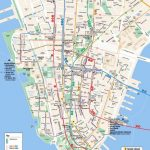 Maps Of New York Top Tourist Attractions   Free, Printable   Printable New York Street Map