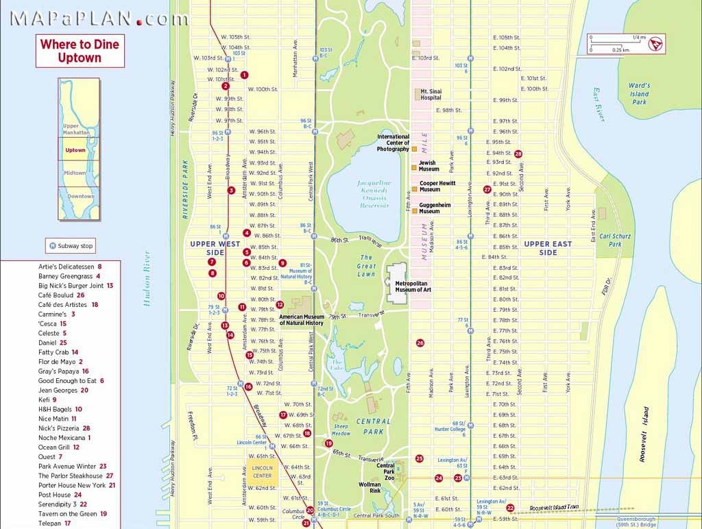 Maps Of New York Top Tourist Attractions Free Printable With Map Nyc - Free Printable Map Of Manhattan