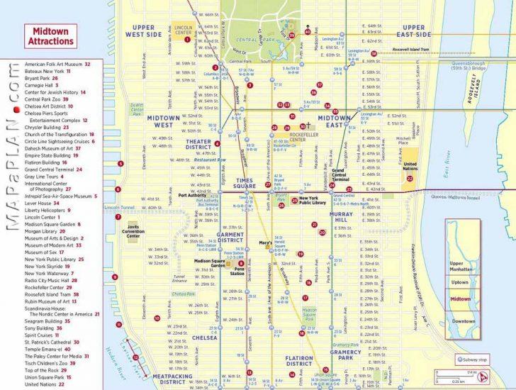 York Street Map Printable