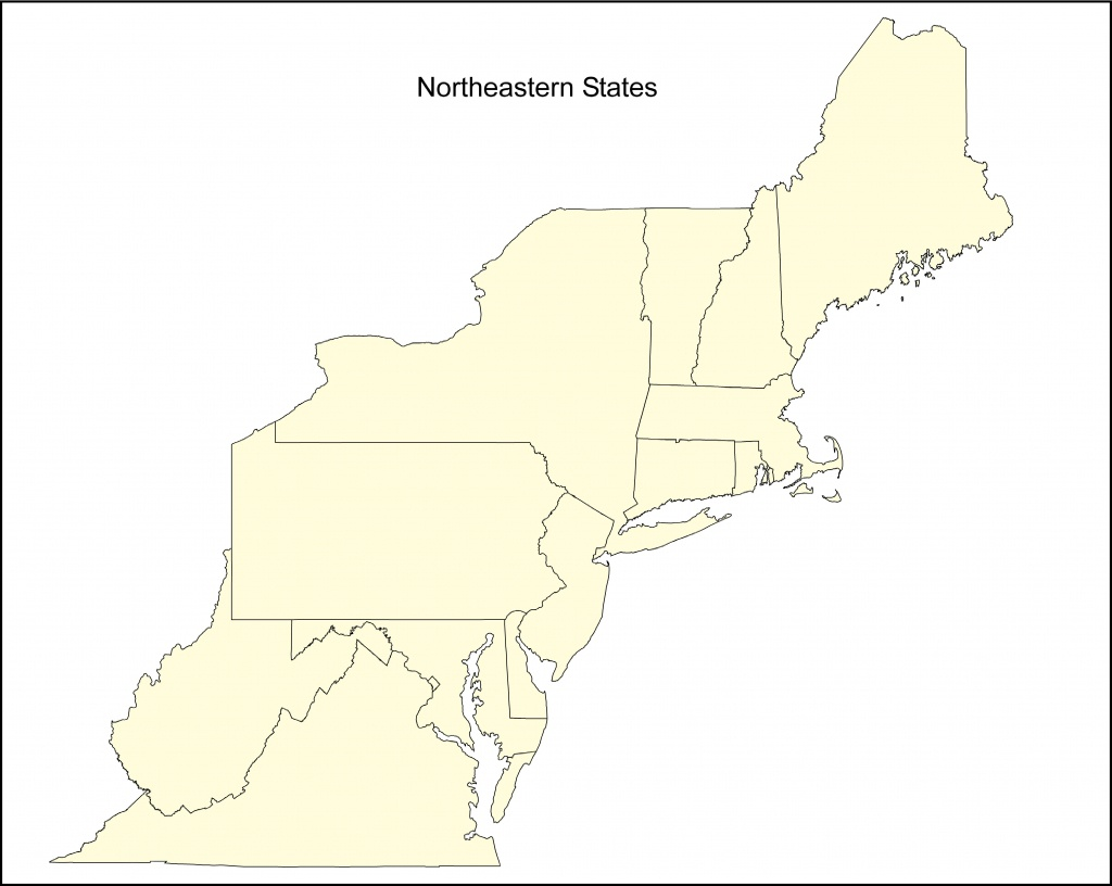 Maps Of Northeastern States - Berkshireregion - Printable Map Of Northeast States