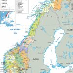 Maps Of Norway   Detailed Map Of Norway In English   Tourist Map Of - Printable Map Of Norway With Cities