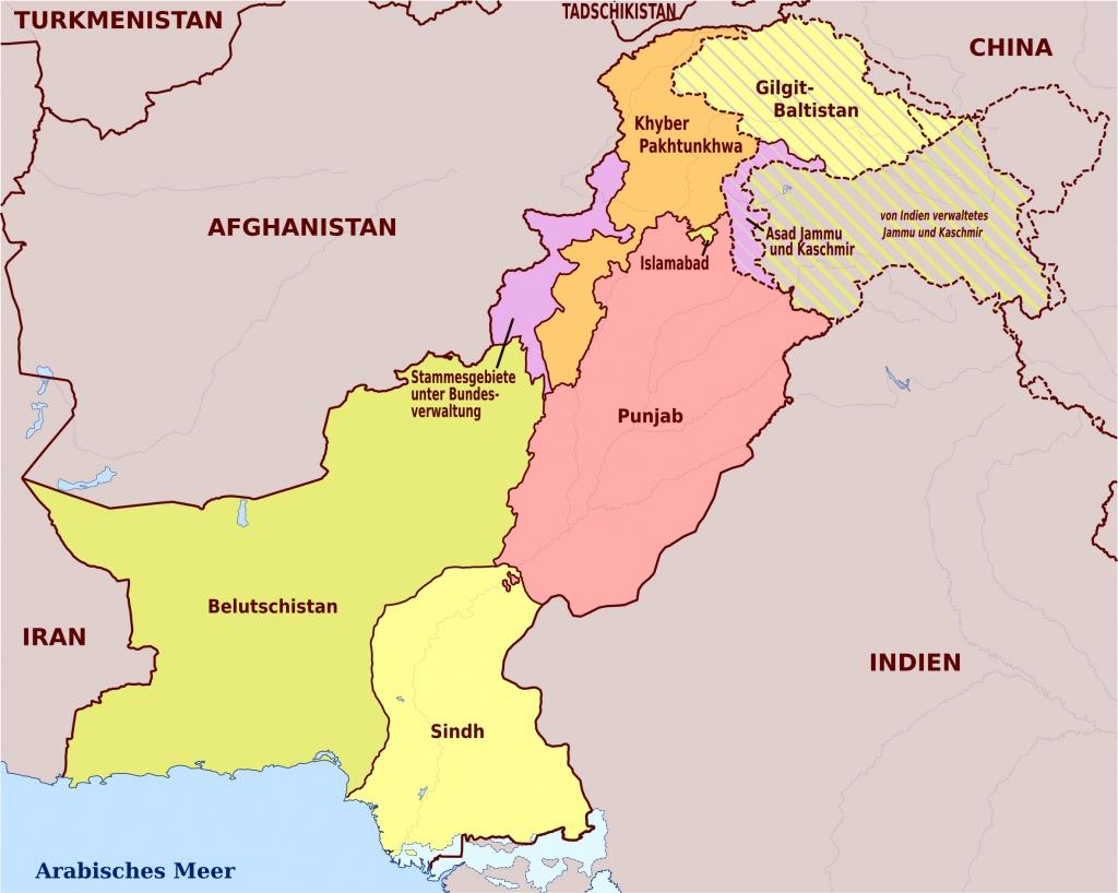 Maps Of Pakistan | Detailed Map Of Pakistan In English | Tourist Map - Printable Map Of Pakistan