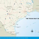 Maps Of Texas Gulf Coast And Travel Information | Download Free Maps   Texas Beaches Map