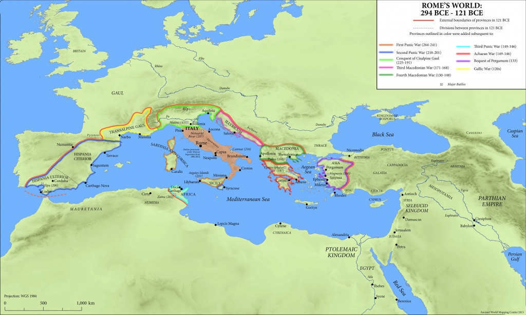 Maps Of The Ancient World - Oxford Classical Dictionary - Printable Map Of Ancient Rome