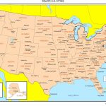 Maps Of The United States - Printable Map Of Usa With Cities And States