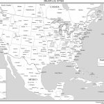 Maps Of The United States   Printable United States Map With Scale