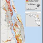 Maps | Planning For Sea Level Rise In The Matanzas Basin   Map Of St Johns County Florida