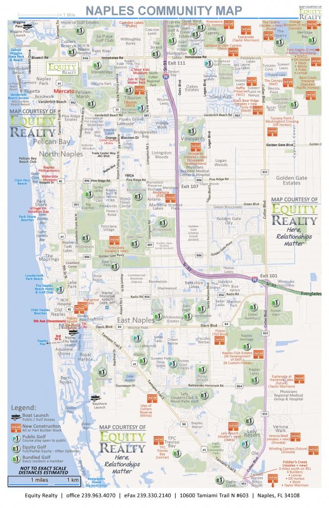 Maps - Printable Street Map Of Naples Florida