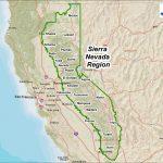 Maps | Sierranevada   Sierra California Map