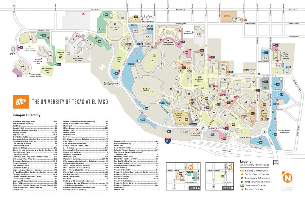 Maps - Texas Tech Housing Map