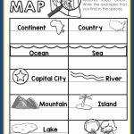 Maps Unit With Powerpoint And Printables (Geography   Community Map For Kids Printable