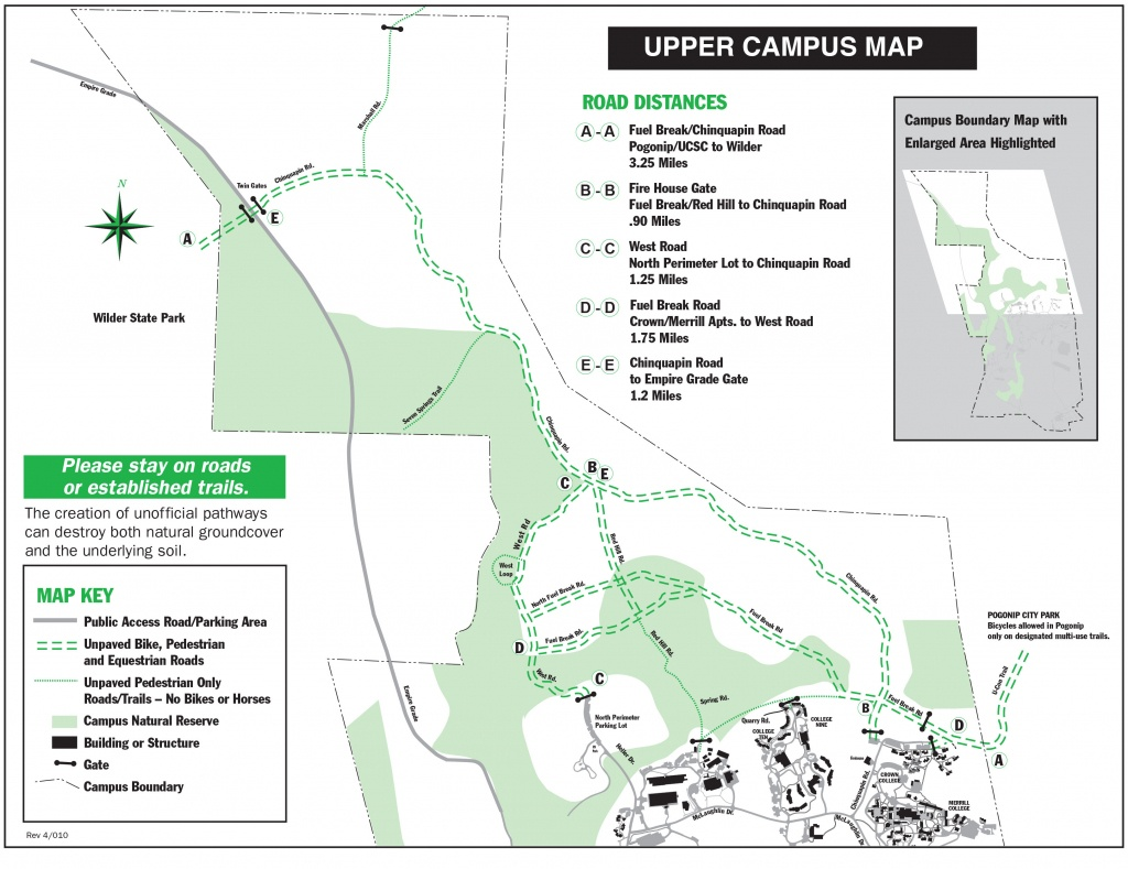 Maps - University Of California Santa Cruz Campus Map