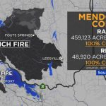 Maps: Wildfires Burning Across California | Abc7News   Show Me A Map Of California Wildfires