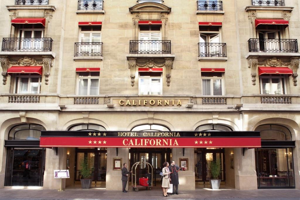 Maranatha S'offre Le Groupe Les Hôtels Du Roy   Hospitality On - Hotel California Paris Map