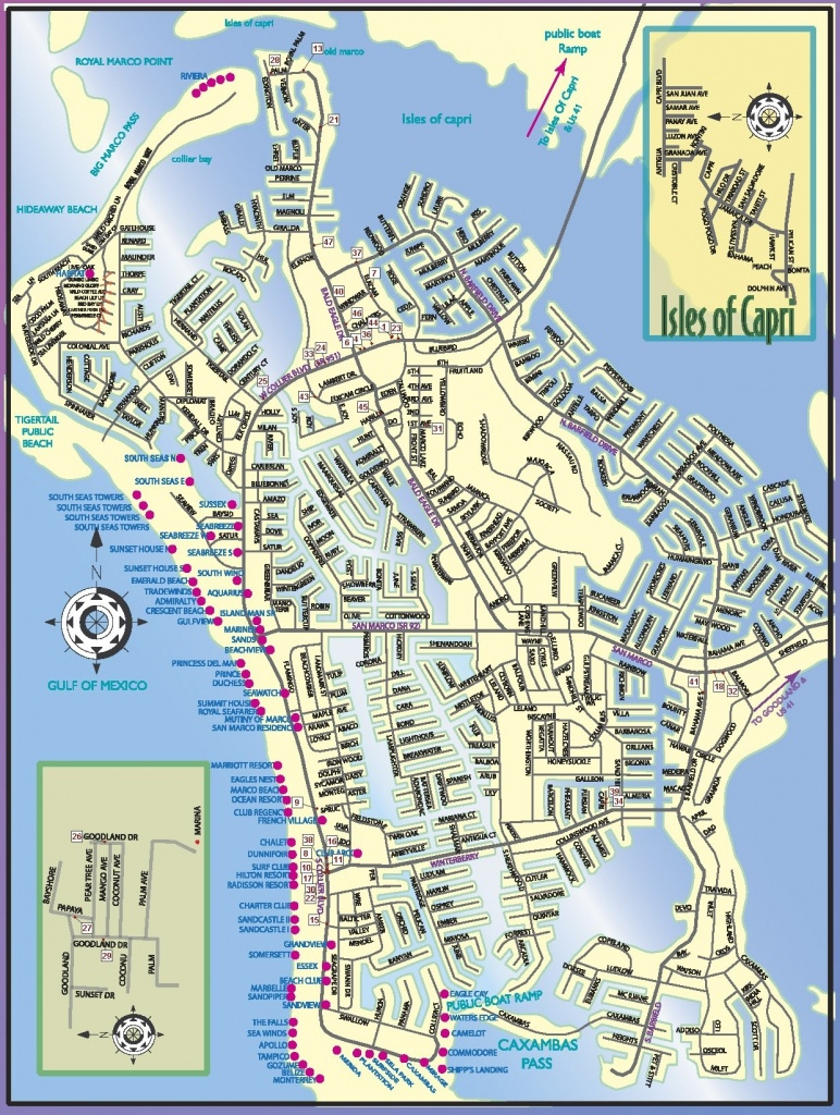 Marco Island Florida Map | Ageorgio - Marco Island Florida Map