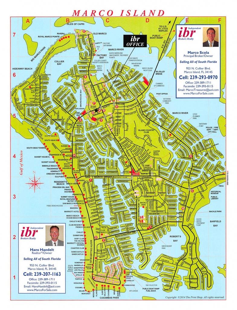 Marco Island Map | Ibr - Marco Island Florida Map