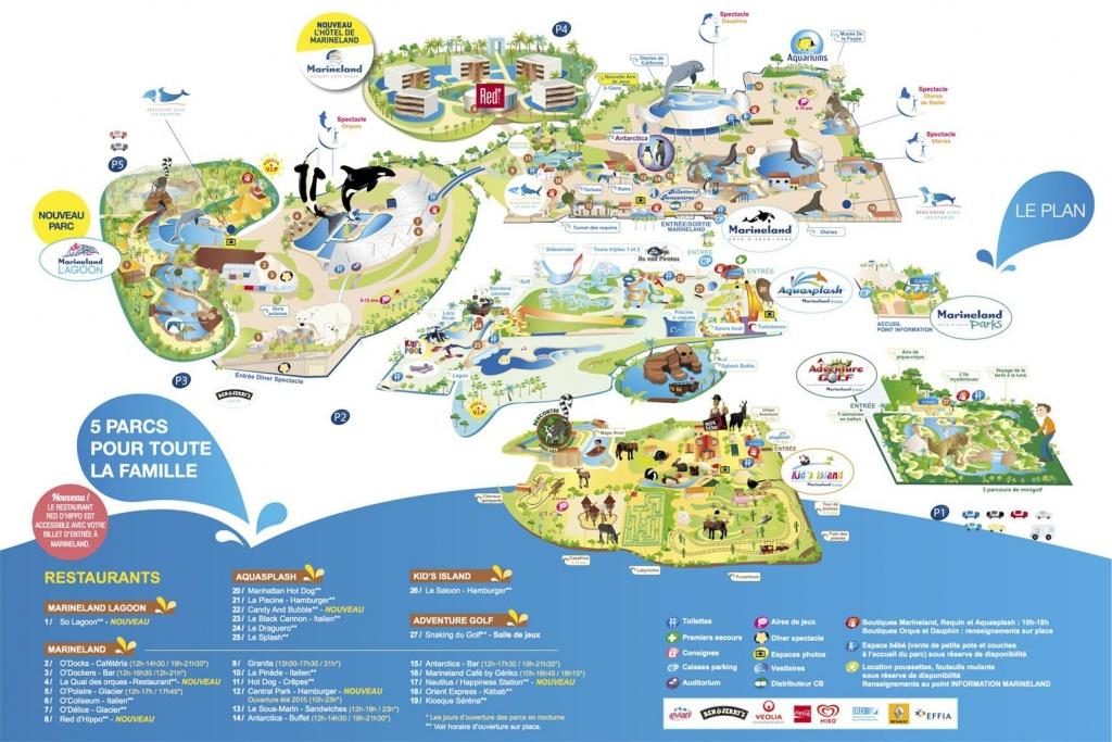 Marineland Antibes France, The French Riviera Theme Park | 2 Tickets - Marineland Florida Map