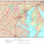 Maryland Political Map   Printable Map Of Maryland