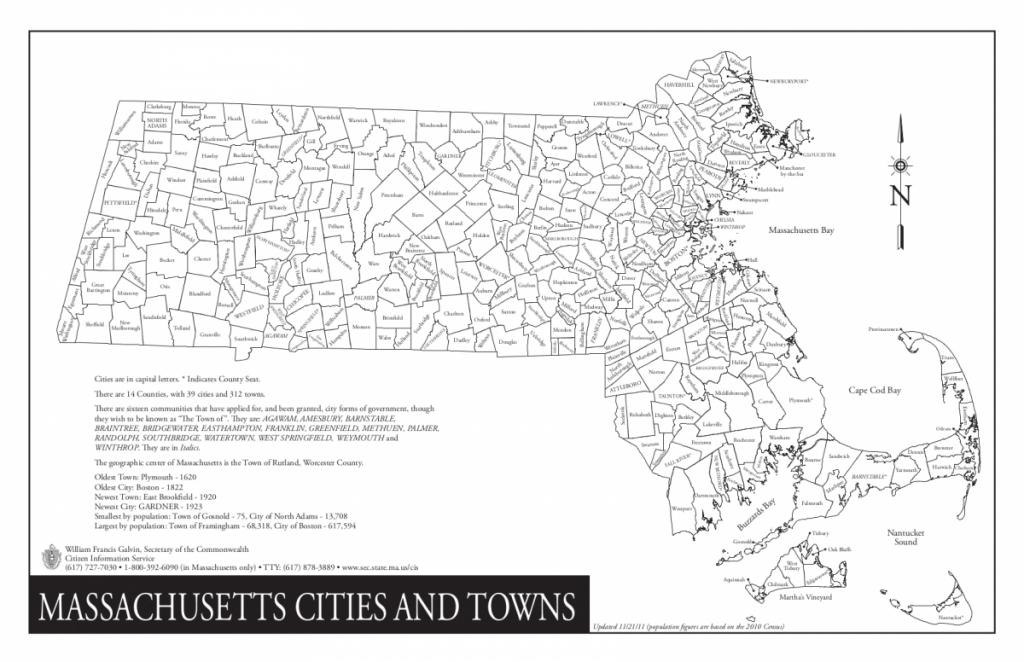 Massachusetts/cities And Towns - Wazeopedia - Printable Map Of Massachusetts Towns