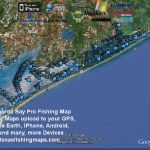 Matagorda Bay Gps Fishing Spots - Texas Fishing Spots Maps For Gps - Texas Coastal Fishing Maps