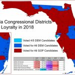 "Matthew Isbell On Twitter: ""article And Plenty Of Maps Looking At   Florida Congressional Districts Map 2018"
