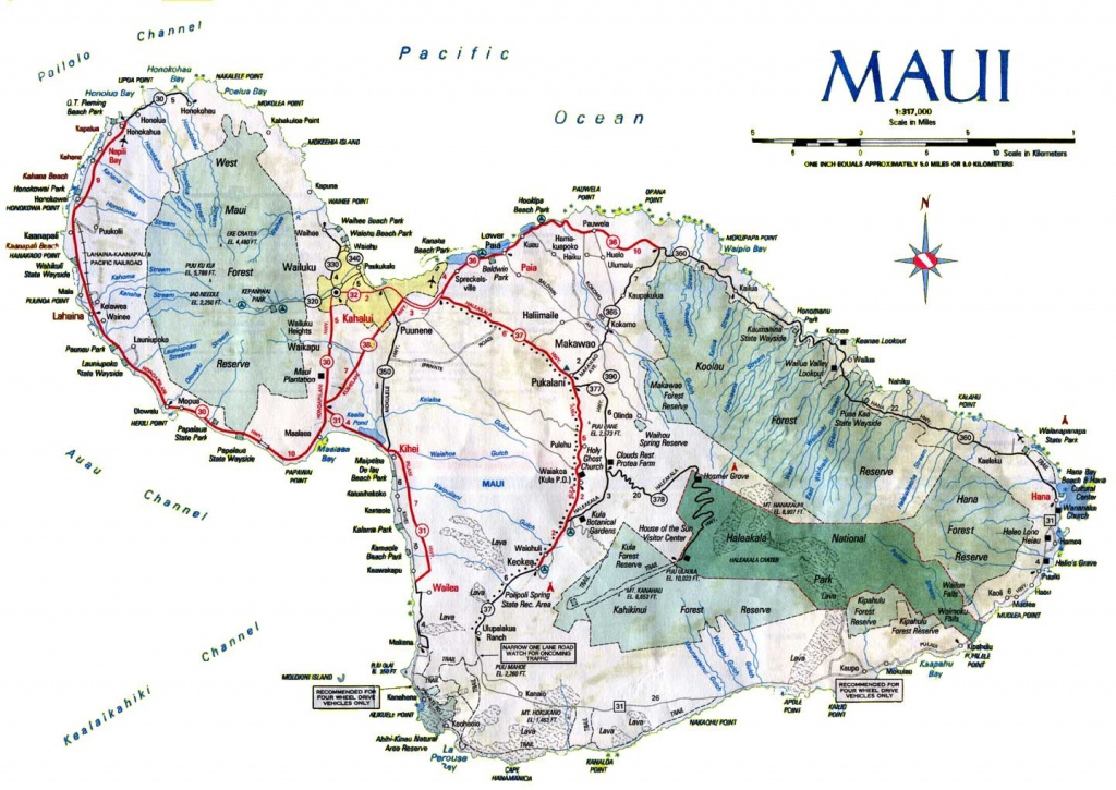 Maui Map Printable (86+ Images In Collection) Page 2 - Maui Road Map Printable